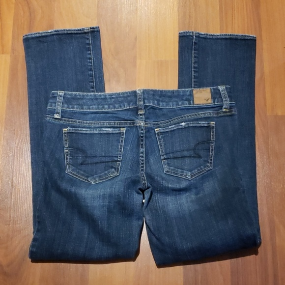 American Eagle Outfitters Denim - A Eagle Straight stretch Jean's size 6 S